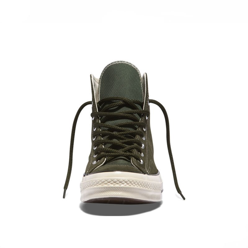 Converse boty Chuck Taylor All Star 70 Base Camp Suede High Top Utility Green front