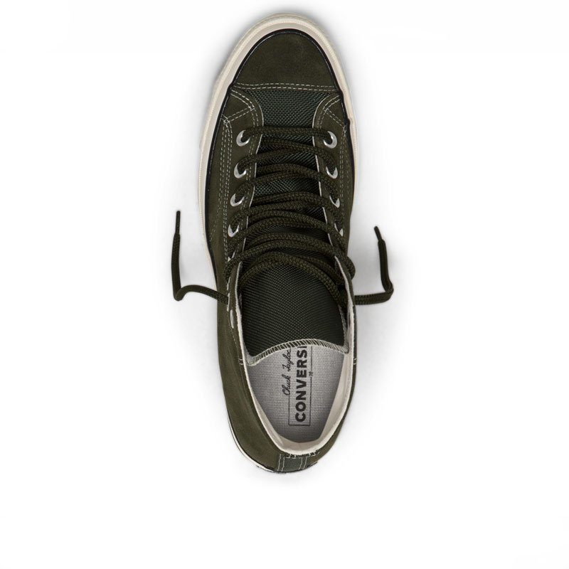 Converse boty Chuck Taylor All Star 70 Base Camp Suede High Top Utility Green top