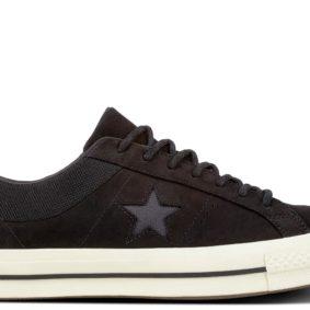Converse boty One Star Sierra Low Top Black main