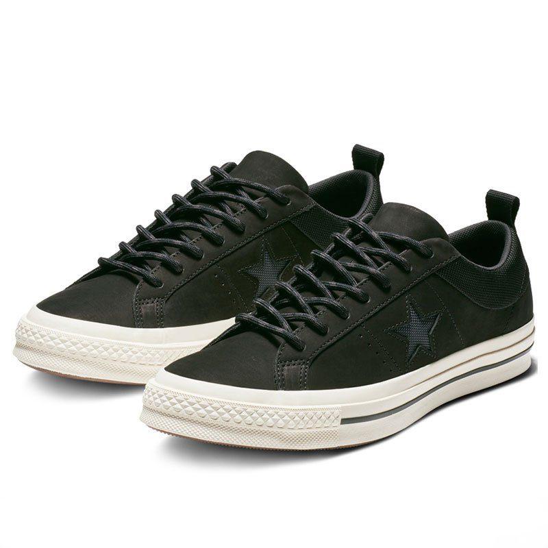 Converse boty One Star Sierra Low Top Black pair