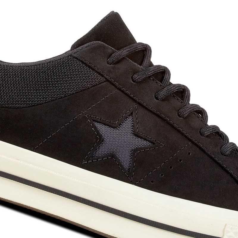 Converse boty One Star Sierra Low Top Black star