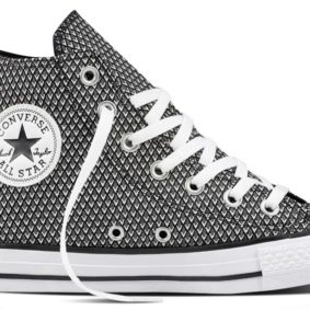 Boty Converse Chuck Taylor All Star Waven Hi Black White main