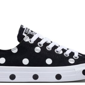 Converse boty Chuck Taylor All Star Dots Black Low main