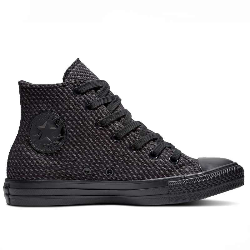 Converse boty Chuck Taylor All Star Wonderland High Top Black right