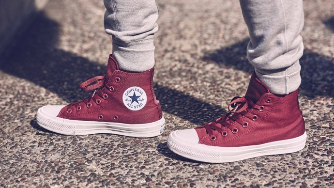 Converse boty Chuck Taylor All Star II Core Deep Bordeaux
