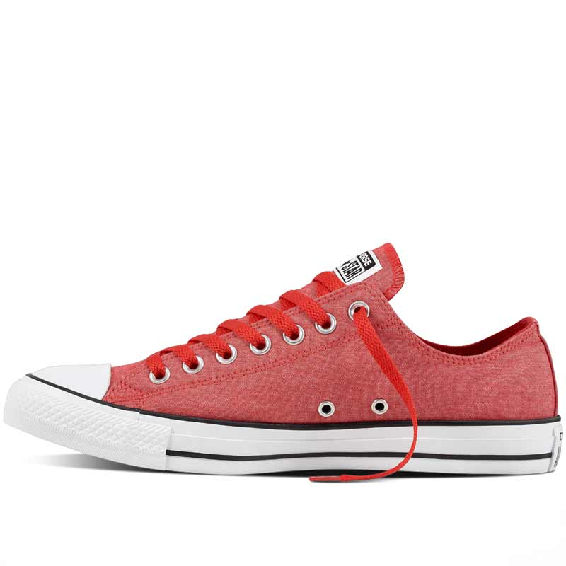 Boty Converse Chuck Taylor All Star Washed Chambray Low Casino left