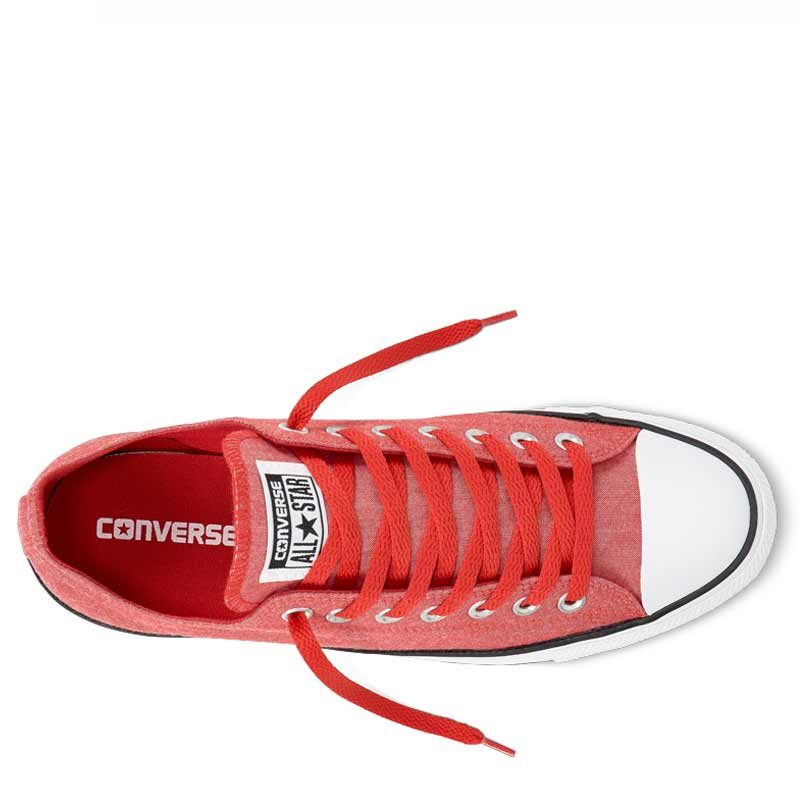 Converse boty Chuck Taylor All Star Washed Chambray Low Casino top C155400