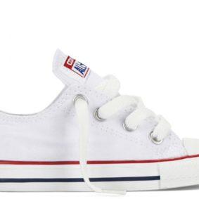 Boty Converse Chuck Taylor All Star White Low dětské main