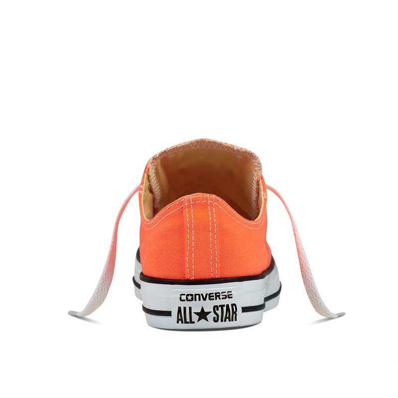 Converse boty Chuck Taylor Fresh Colors Hyper Orange back