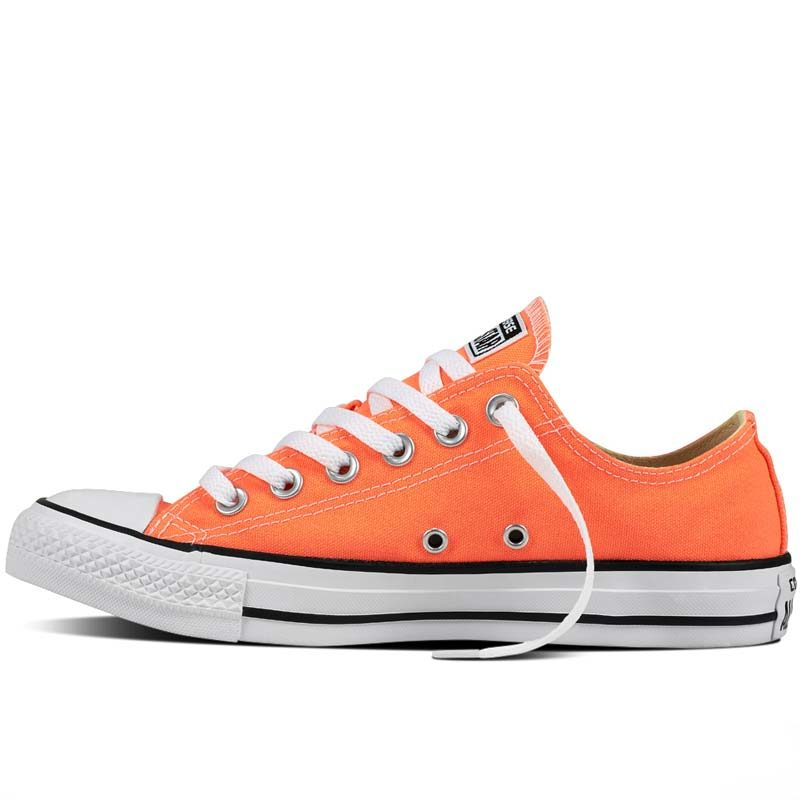 Converse boty Chuck Taylor Fresh Colors Hyper Orange left