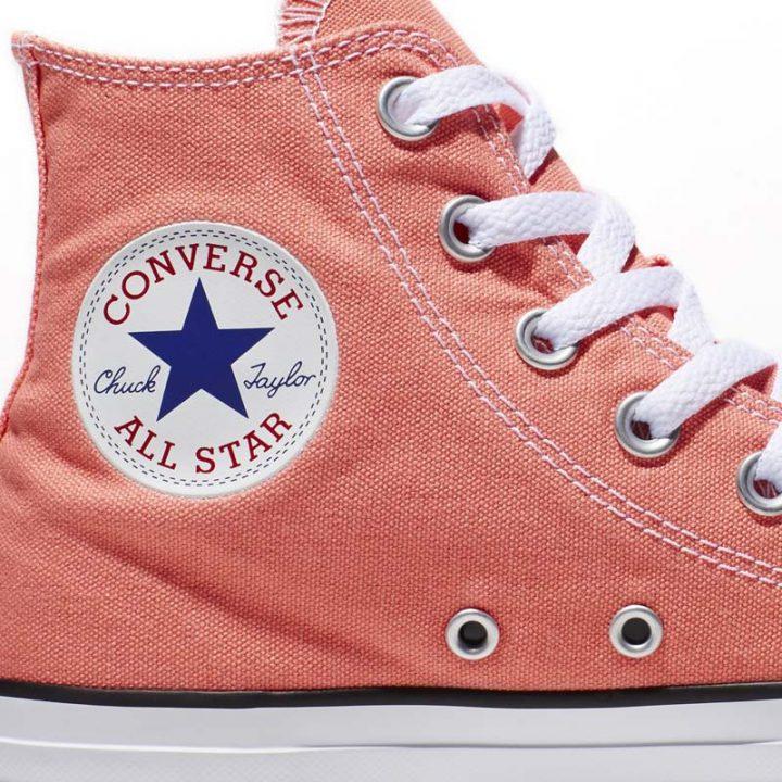 Converse Chuck Taylor All Star Hi Sunblush close