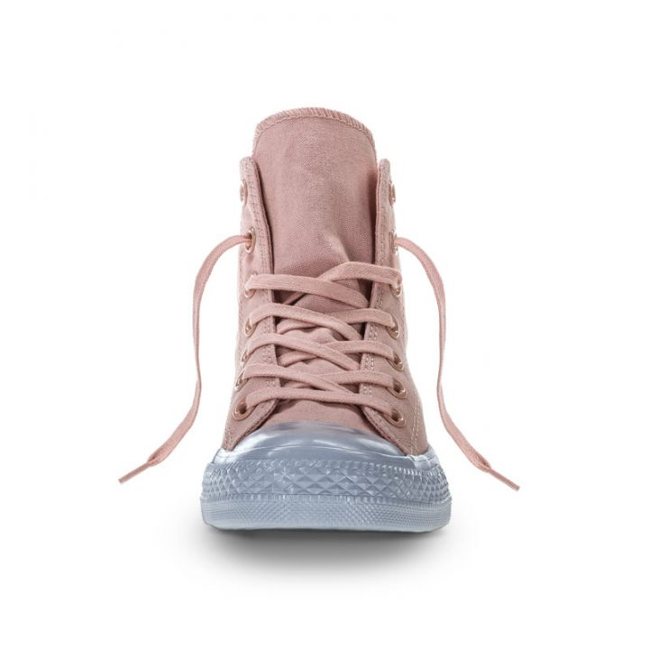 Converse Boty Chuck Taylor All Star Platinum Midsoles front