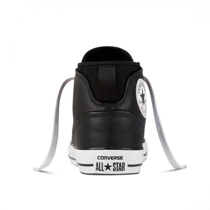 Converse boty Chuck Taylor Syde Street Black back