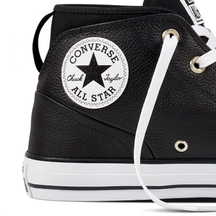 Converse boty Chuck Taylor Syde Street Black detail2