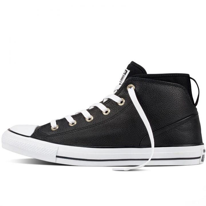 Converse boty Chuck Taylor Syde Street Black left