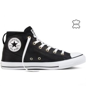 Converse boty Chuck Taylor Syde Street Black right