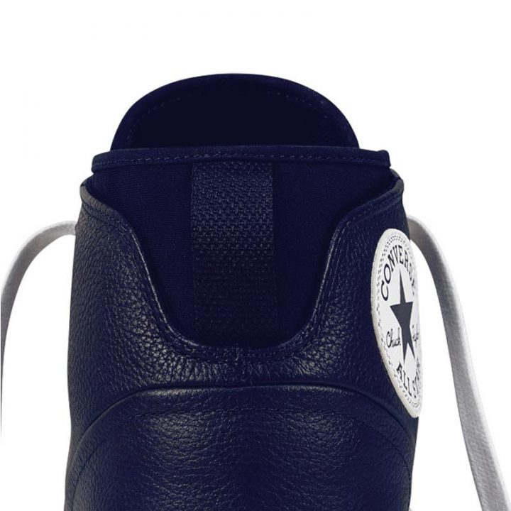 Converse boty Chuck Taylor All Star Street Leather Midnight Navy detail1