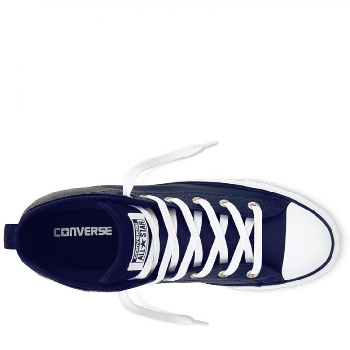 Converse boty Chuck Taylor All Star Street Leather Midnight Navy top