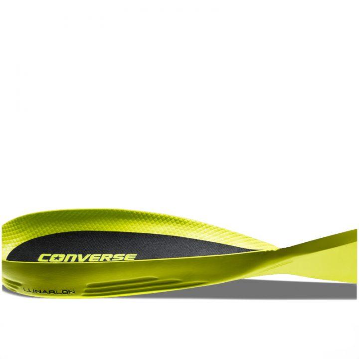 Converse boty Chuck Taylor II Open Knit Black lunarlon