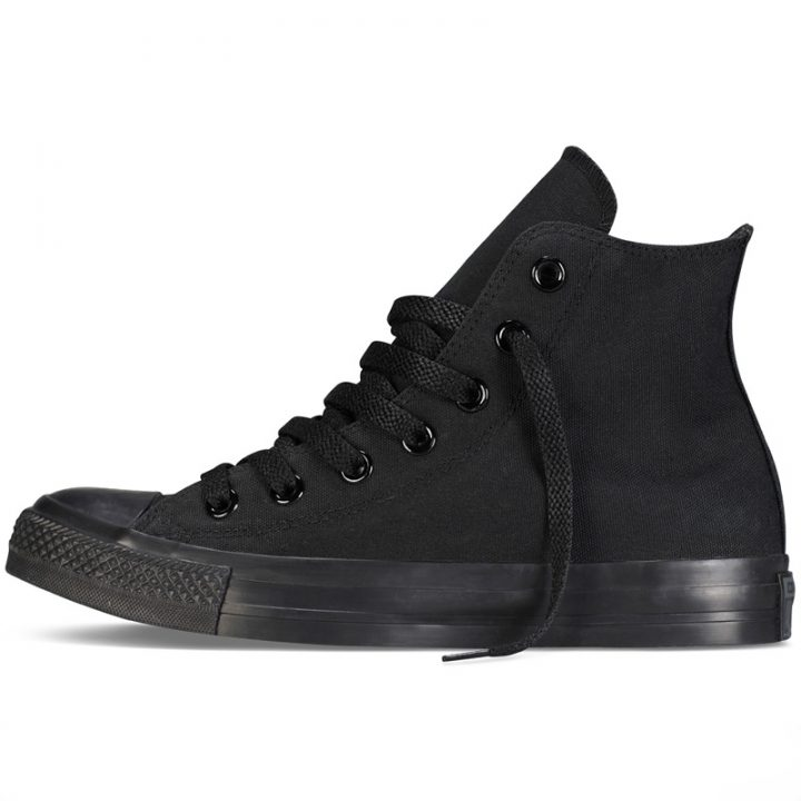Boty Converse Chuck Taylor All Star Hi Black Monochrome left