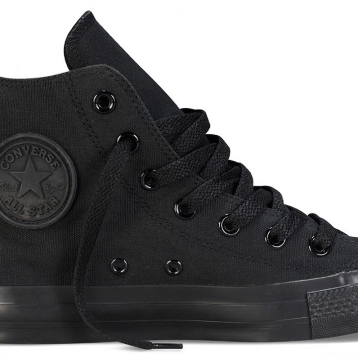 Boty Converse Chuck Taylor All Star Hi Black Monochrome main