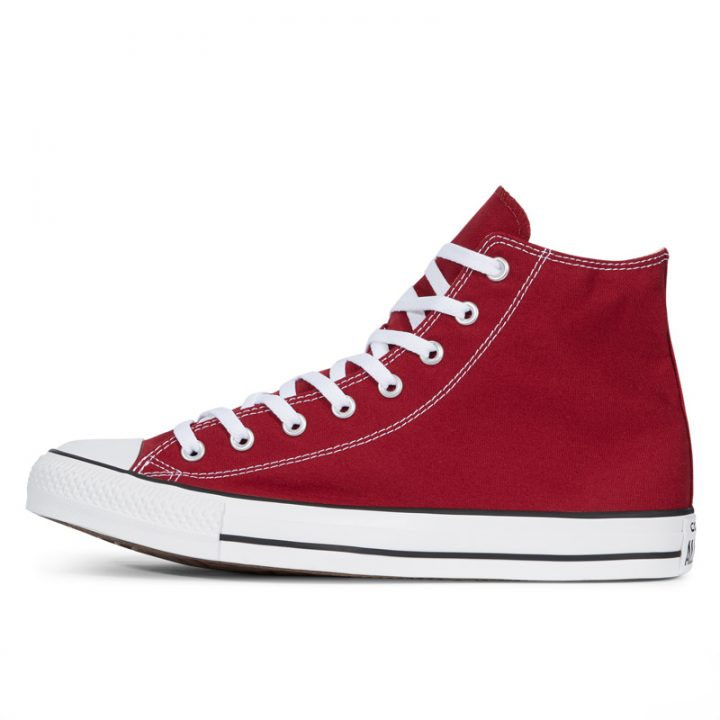Boty Converse Chuck Taylor All Star Core Maroon Hi left