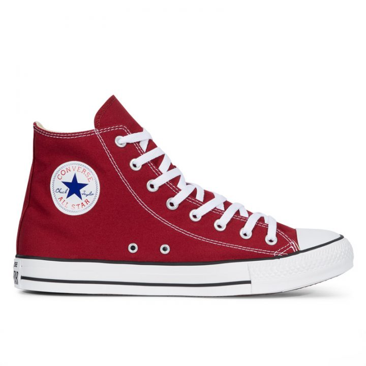 Boty Converse Chuck Taylor All Star Core Maroon Hi right