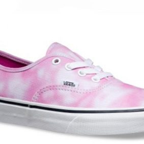 Vans damske boty Authentic Tie Dye Rose main