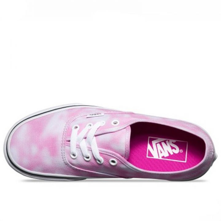 Vans damske boty Authentic Tie Dye Rose top