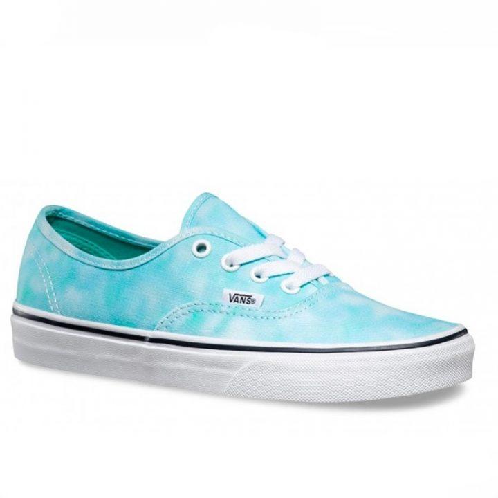 Dámské boty Vans Authentic Tie Dye Turquoise angle