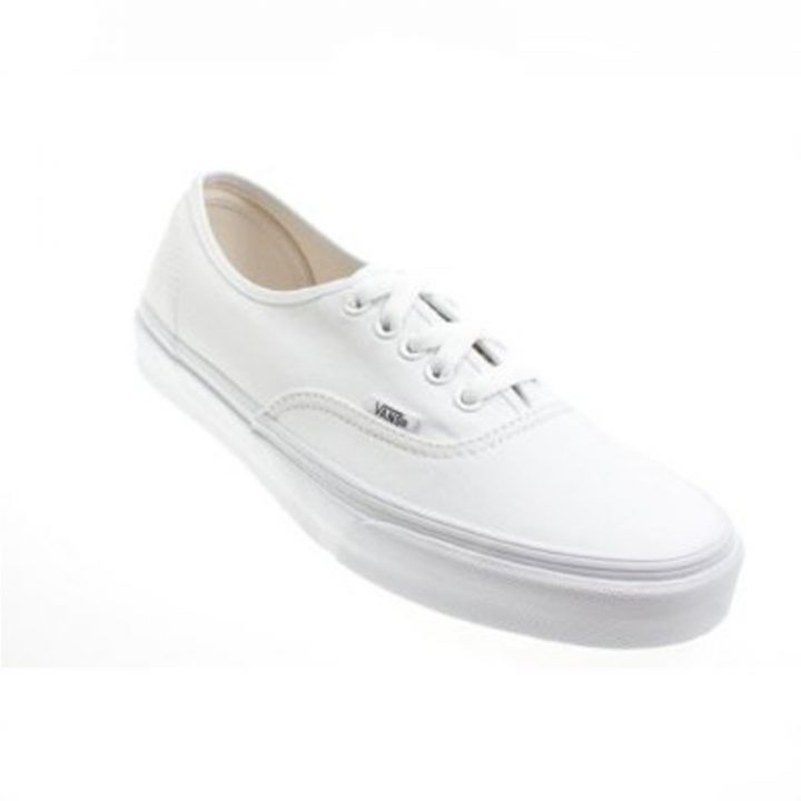 Vans boty Authentic White angle