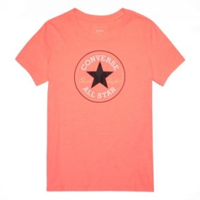 Converse tričko Solid Chuck Patch Crew Orange front