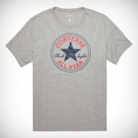 Triko Converse Core Chuck Patch Tee Vintage grey Heather
