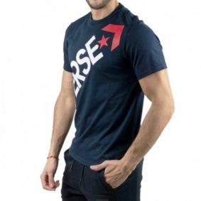 Converse panske triko Mens Cross Body Tee Dark Obsidian promo