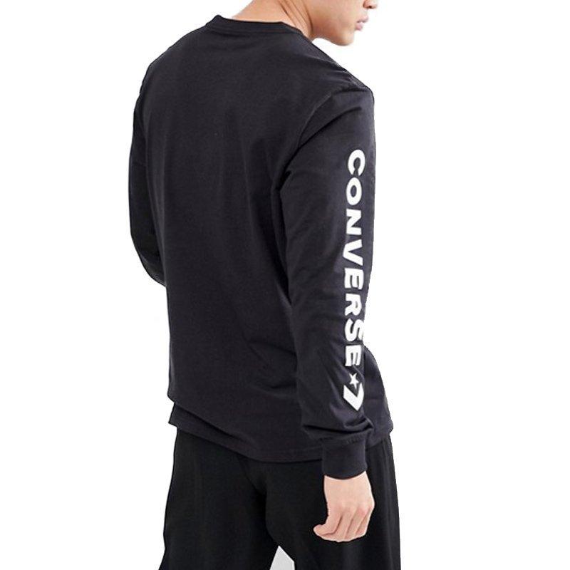 Converse tričko Star Chevron Wordmark Mens Long Sleeve T-Shirt back