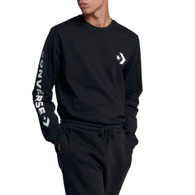 Converse tričko Star Chevron Wordmark Mens Long Sleeve T-Shirt