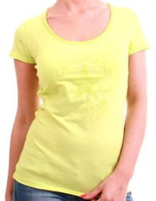 Světlé tričko Converse Yellow