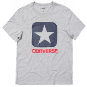 Triko Converse Core Boxtar Tee Vintage Grey Heather
