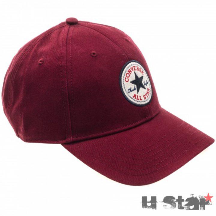 Kšiltovka Converse Core Cotton Twill Cap Red Block