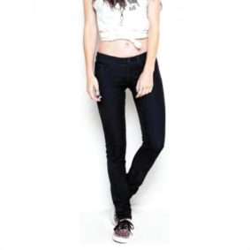 Vans jeans Skinny denim black girl1