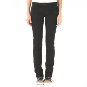 Vans jeans Skinny denim black girl2