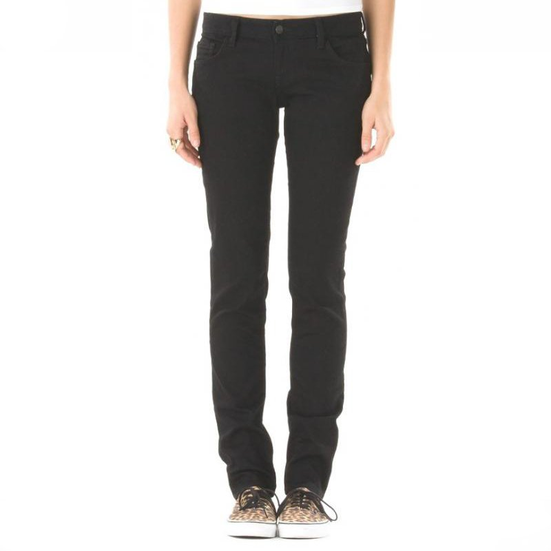 Vans jeans Skinny denim black girl2