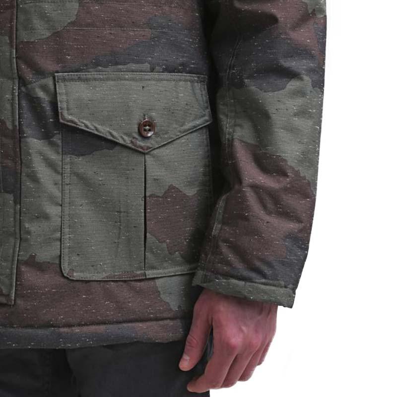 Zimní bunda Vans TALAVERA Hillside Camo