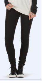 Vans dámské jeans Skinny FIT black