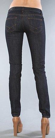 Vans dámské jeans Skinny Indigo Rinse