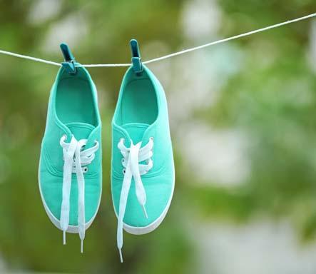 Vyhněte se navlhčení obuvi